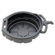 Professional 16 Litre Oil Pan Coolant Fuel Fluid Drain Tray Bucket - Tool Au295 -  16 litre oil pan drain fluid tray tool coolant fuel bucket au295