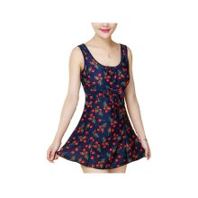 Middle-aged Mother Swimsuit/Hot Springs Chest Gather Swimming Apparel
