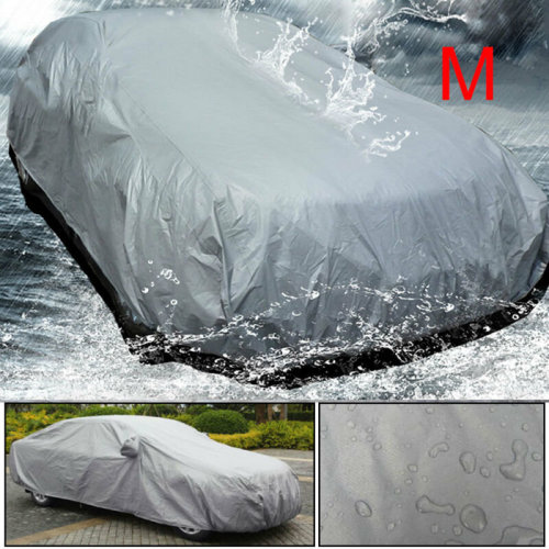 Waterproof Extra Large Full Car Cover UV Outdoor Breathable M 430cmx160cmx120cm
