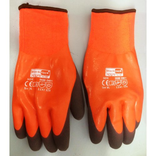 Thermal Car Wash Gloves Waterproof Grip Insulated