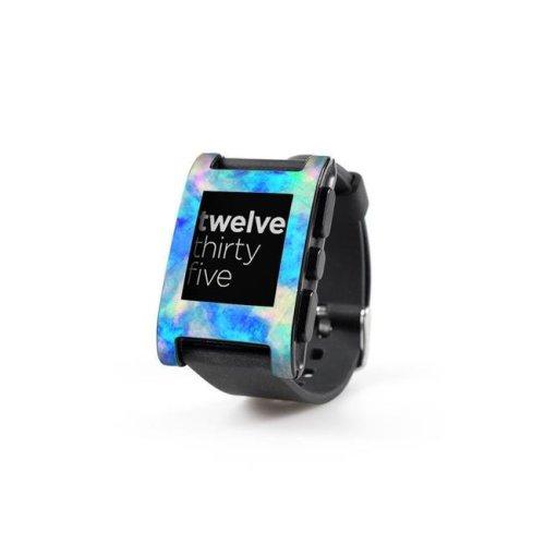 DecalGirl PWCH-ELECTRIFY Pebble Watch Skin - Electrify Ice Blue