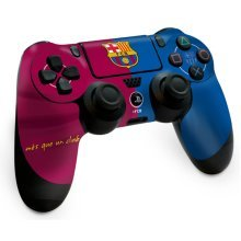Barcelona Ps4 Controller Skin - Fc Playstation Official Football Sticker New -  controller skin barcelona fc ps4 playstation official football