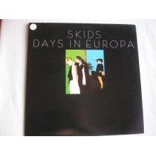 THE SKIDS - Days In Europa UK LP 1979 near mint/ex