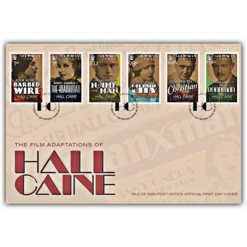 The Adaptations of Hall Caine First Day Cover