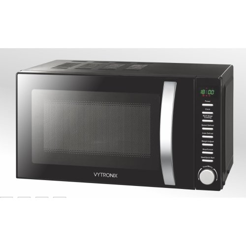 VYTRONIX Digital Microwave Oven 800W 20L 5 Power Levels Freestanding