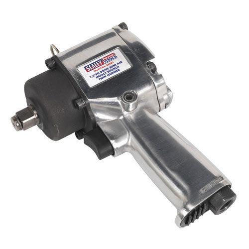 """Sealey SA203 1/2""""Sq Drive Compact Air Impact Wrench - Twin Hammer"""