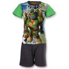 Turtles Short Pyjamas - Green