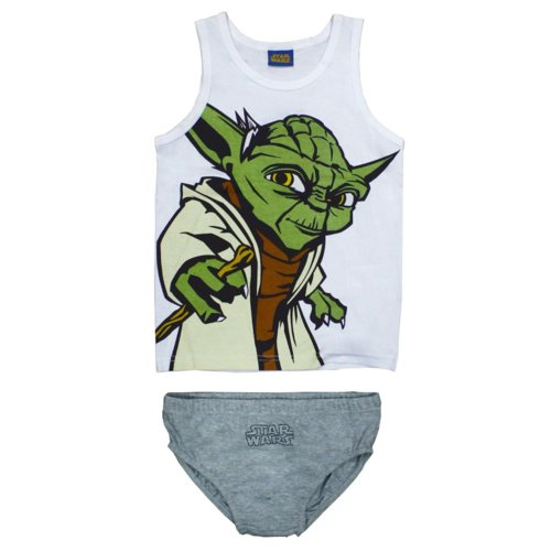 Star Wars Yoda Pants & Vest - Grey