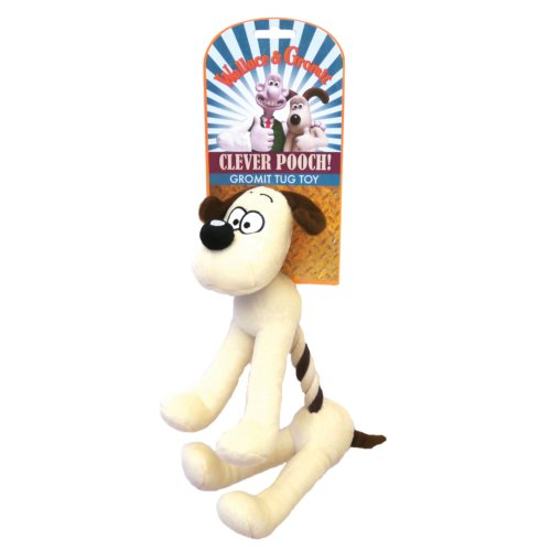 Wallace & Gromit Gromit Tug Toy 11'' (Pack of 3)