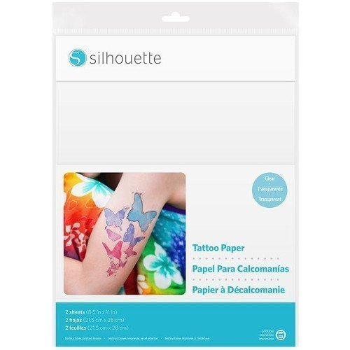 Silhouettes Temporary Tattoo Paper