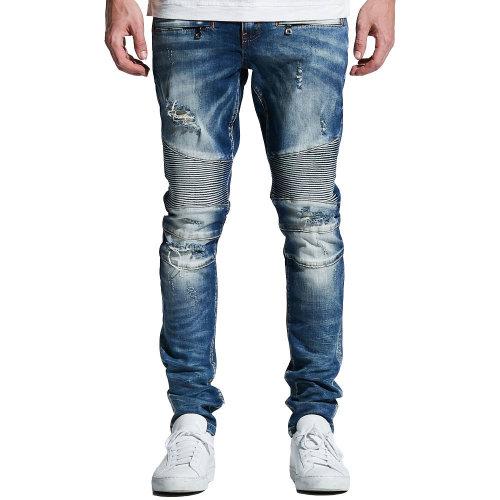 Embellish Lance Biker Denim Jeans