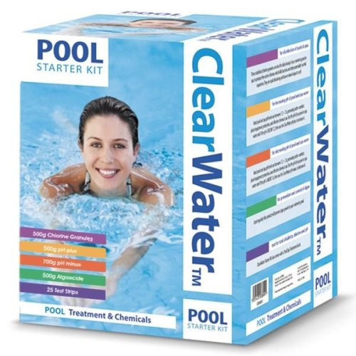 ClearWater Chemical Water Cleaner Swimming Pool Hot Tub Starter Treatment Kit