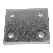 "Drop Plate Zinc Plated 4"" - 4 Maypole 232 4in Hole -  drop plate 4 zinc plated maypole 232 4in hole"
