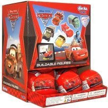 Tomy Disney Cars 2 Buildable Figures