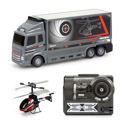 Silverlit Falcon Mission RC Truck & Helicopter