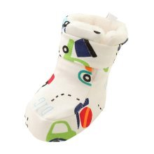 Cars Pattern Baby Winter Warm Shoes Toddler Shoe