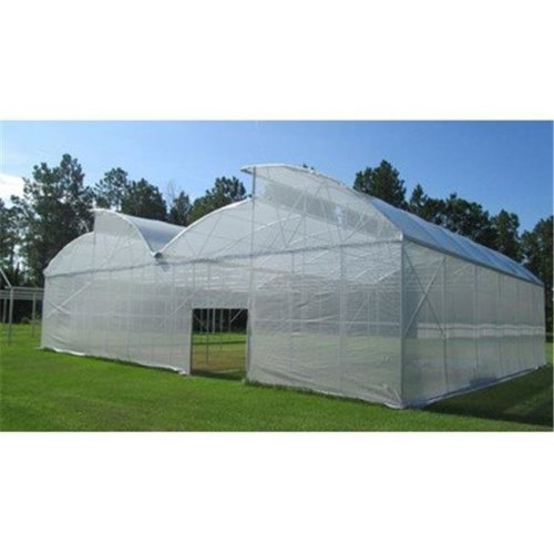 RSI W-SC1225-50 White Tropical Weather Shade Clothes with Grommets - 50 PercentageShade Protection, 12 x 25 ft.