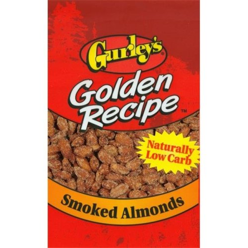 Gurleys Foods 302777396 07615 2 oz Smoked Almonds - Pack of 8