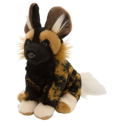 Wild Republic African Wild Dog Plush Soft Toy, Cuddlekins Cuddly Toys, gifts for Kids 20cm