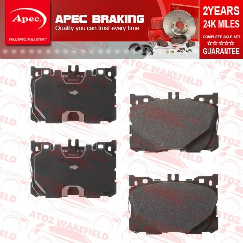 FOR MERCEDES C43 E43 GLC43 AMG FRONT PREMIUM QUALITY APEC BRAKE PADS NEW