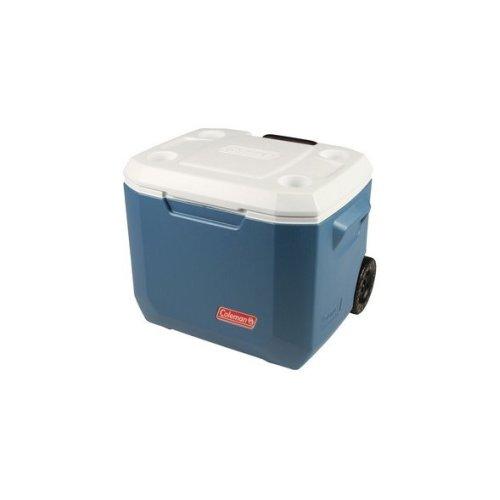 Coleman 50QT Xtreme 45 Litre Wheeled Cooler - Blue