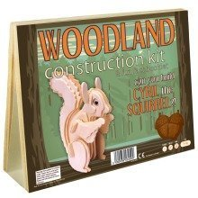 Woodland Construction Kit & Fun Fact Booklet - Cyril the Squirrel