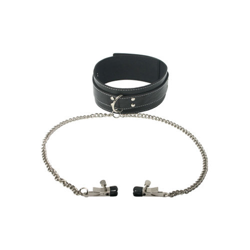 Coveted Collar and Clamp Union  BDSM Bondage - Master Series