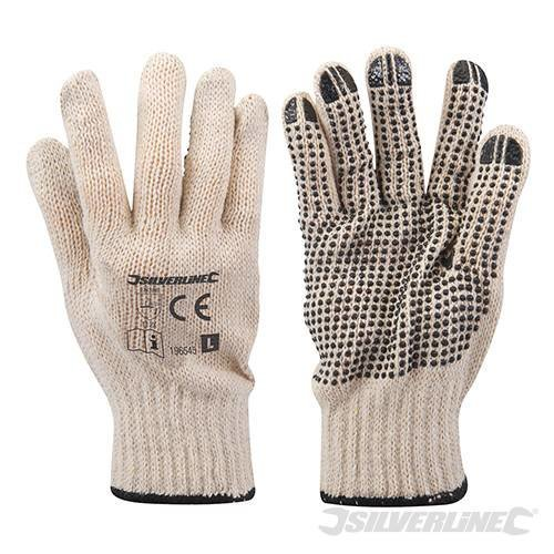 Large Single Sided Dot Gloves