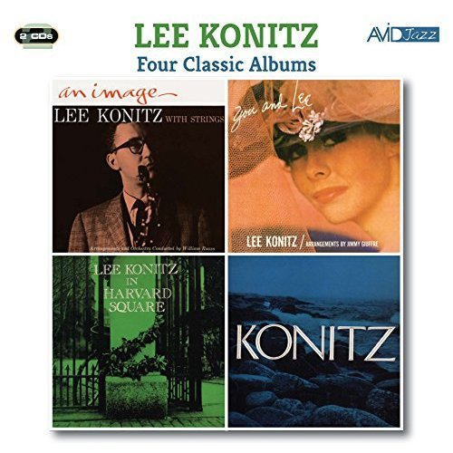 Lee Konitz - Four Classic Albums (An Image / You And Lee / In Harvard Square /Konitz) [CD]