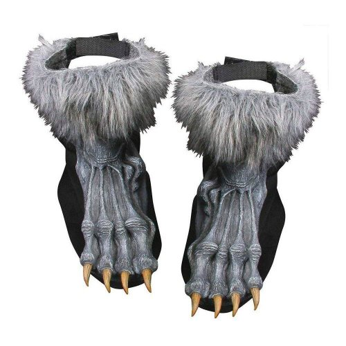 Werewolf Silver Shoe Covers - Default Title
