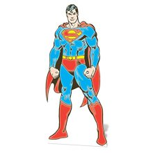 "Star Cutouts SC636 ""Superman DC Comics"" Cardboard Cut out"