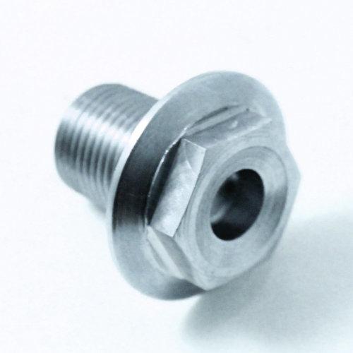 TITANIUM front wheel spindle nut: 90306-MFL-D00