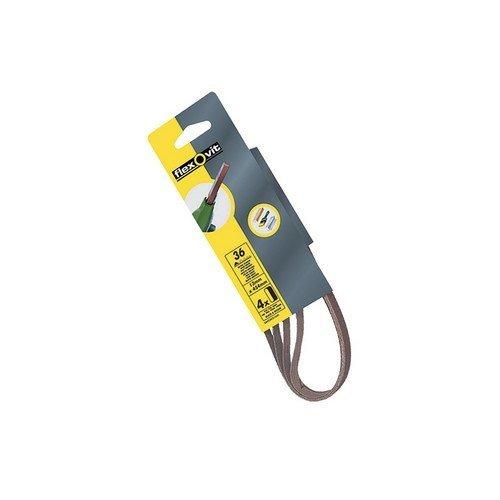 Flexovit 63642526733 Powerfile Sanding Belt 454mm x 13mm Assorted Pack of 6