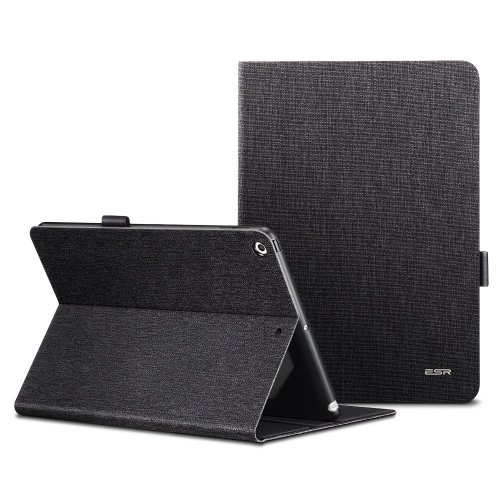 sale retailer 394f6 979d2 ESR iPad 9.7 Inch 2018/2017 Case, Premium Folio Case, Apple Pencil holder,  Multi-Angle Viewing Stand, Smart Cover with Auto Sleep/Wake Function for...