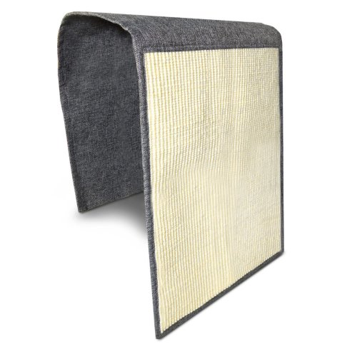 Navaris Cat Scratch Mat Sofa Shield - Natural Sisal Furniture Protector Scratching Pad for Cats - Scratch Carpet for Bed, Chair, Couch, Seat, Stairs