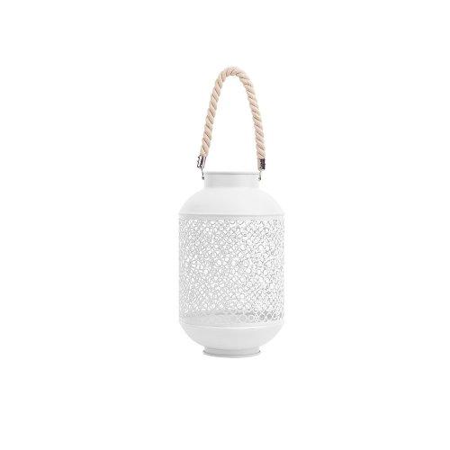 Metal Lantern White CORON
