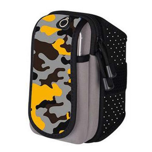 Gym Fitness Cell Phone Case with Key Holder Arm Package with Earphone Running