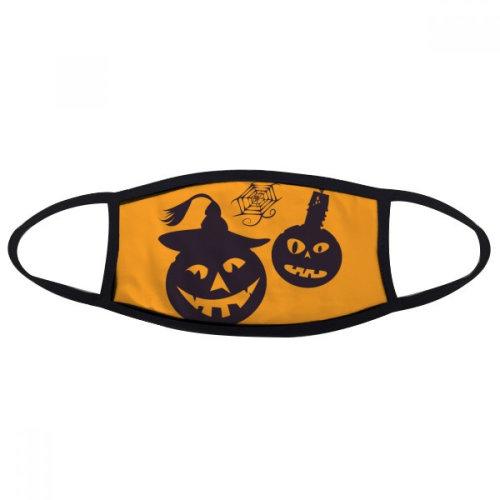 Halloween Pumpkins Candles Cobwebs Face Anti-dust Mask Anti Cold Maske Gift