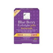 New Nordic Blueberry Mega Oad for Vision & Vitality 30 Tablets