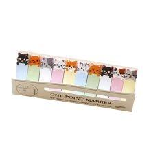 Cartoon Cat Sticky Office/Home/School  Pads 5 Packs