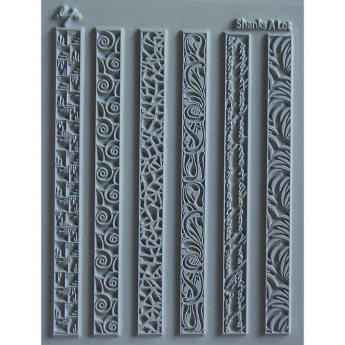 "Lisa Pavelka Individual Texture Stamp 4.25""X5.5""-Shanks A Lot"