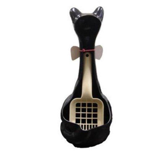 Cat Scoopy Litter Box Scoop Holder-Black