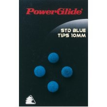 10mm Standard Snooker Cue Tips - Powerglide 4 Pack 101176 Sports Deal Blue Pool -  tips powerglide standard cue 4 pack 101176 sports deal blue pool
