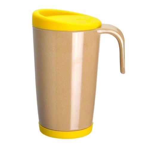 OLPRO Husk Re-Useable Café Mug - Yellow