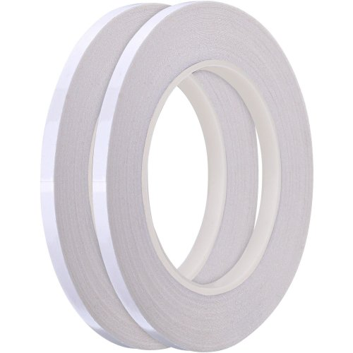 2 Pack 1/4 inch Quilting Sewing Tape Wash Away Tape, Each 22 Yard
