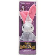 Magician's Rabbit And Wand - Magicians Child Bunny Tobar Toy -  rabbit magicians wand child bunny tobar toy
