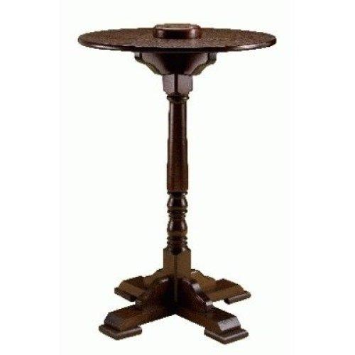 Pola Wooden Poseur Table - Round