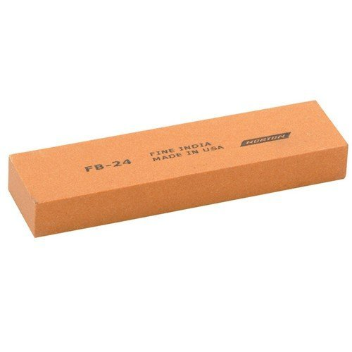 India 61463685585 FB24 Bench Stone 100mm x 25mm x 12mm - Fine