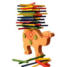 The Color Bar Balance Beam Children Puzzle Game Camel Balance Beam