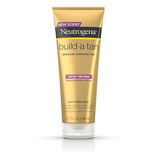 Neutrogena Build A Tan Gradual Sunless Tanning 6 7 Fl Oz